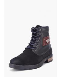 Мужские черные замшевые повседневные ботинки от Airbox