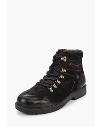 Мужские черные замшевые повседневные ботинки от Alessio Nesca