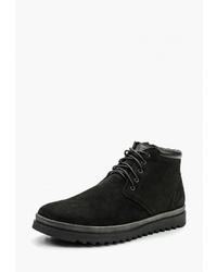Мужские черные замшевые повседневные ботинки от Der Spur