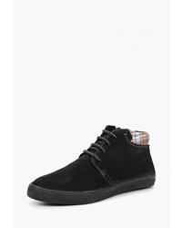 Мужские черные замшевые повседневные ботинки от Goodzone