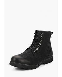 Мужские черные замшевые повседневные ботинки от Happy Family