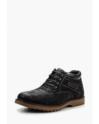 Мужские черные замшевые повседневные ботинки от Instreet