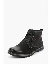 Мужские черные замшевые повседневные ботинки от T.Taccardi