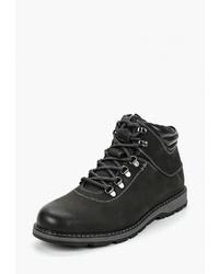 Мужские черные замшевые повседневные ботинки от Thomas Munz