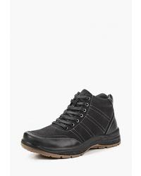 Мужские черные замшевые рабочие ботинки от T.Taccardi