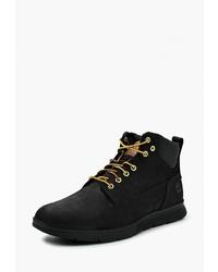 Мужские черные замшевые рабочие ботинки от Timberland
