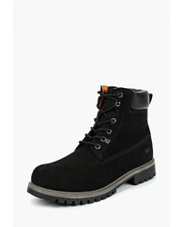 Мужские черные замшевые рабочие ботинки от Weinbrenner by Bata