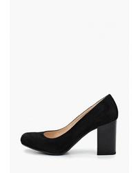 Черные замшевые туфли от Argo