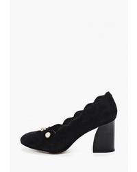 Черные замшевые туфли от Berkonty