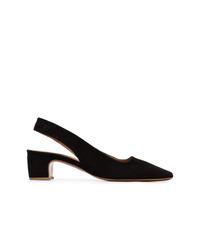 Черные замшевые туфли от By Far