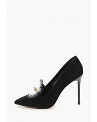 Черные замшевые туфли от Dino Ricci