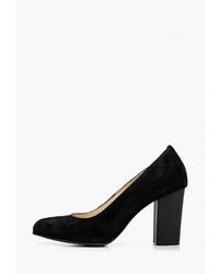 Черные замшевые туфли от Fagro