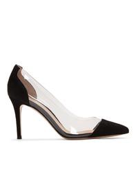 Черные замшевые туфли от Gianvito Rossi