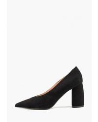 Черные замшевые туфли от Giotto
