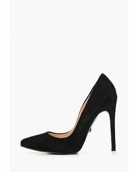 Черные замшевые туфли от Hestrend