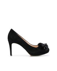 Черные замшевые туфли от Högl