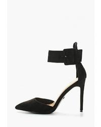 Черные замшевые туфли от Ideal Shoes