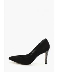 Черные замшевые туфли от Indiana
