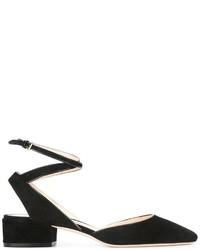 Черные замшевые туфли от Jimmy Choo