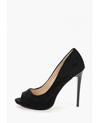 Черные замшевые туфли от Lino Marano