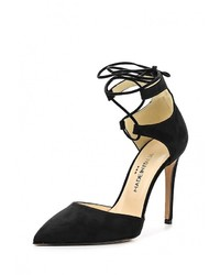 Черные замшевые туфли от Made in Italia