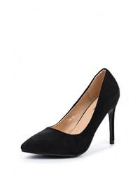 Черные замшевые туфли от Mimoda