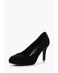 Черные замшевые туфли от Obsel