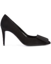 Черные замшевые туфли от Pierre Hardy