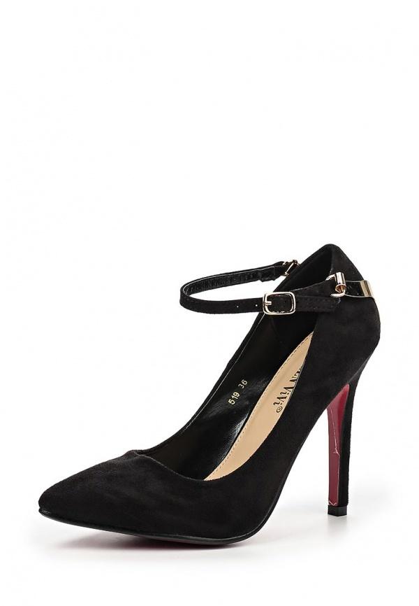 Черные замшевые туфли от Queen Vivi