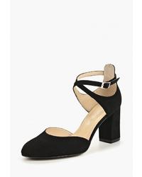 Черные замшевые туфли от Shoobootique