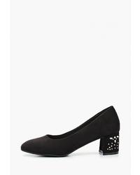 Черные замшевые туфли от T.Taccardi