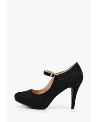 Черные замшевые туфли от Tulipano
