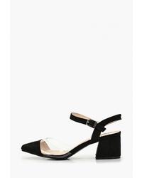 Черные замшевые туфли от Vera Blum