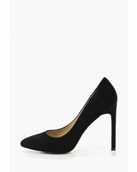 Черные замшевые туфли от Vitacci