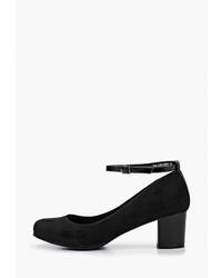 Черные замшевые туфли от Zenden Woman