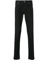 Мужские черные зауженные джинсы от Alexander McQueen