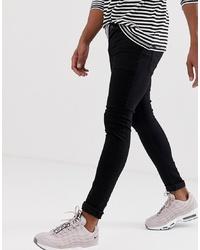Мужские черные зауженные джинсы от ASOS DESIGN