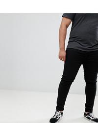 Мужские черные зауженные джинсы от BLEND