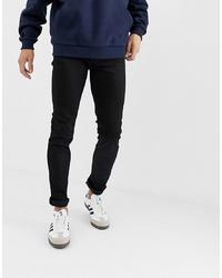 Мужские черные зауженные джинсы от Bolongaro Trevor