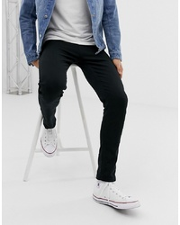 Мужские черные зауженные джинсы от Brave Soul