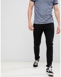 Мужские черные зауженные джинсы от Calvin Klein Jeans
