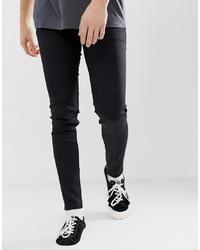 Мужские черные зауженные джинсы от Cheap Monday