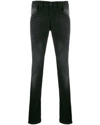 Мужские черные зауженные джинсы от Dondup