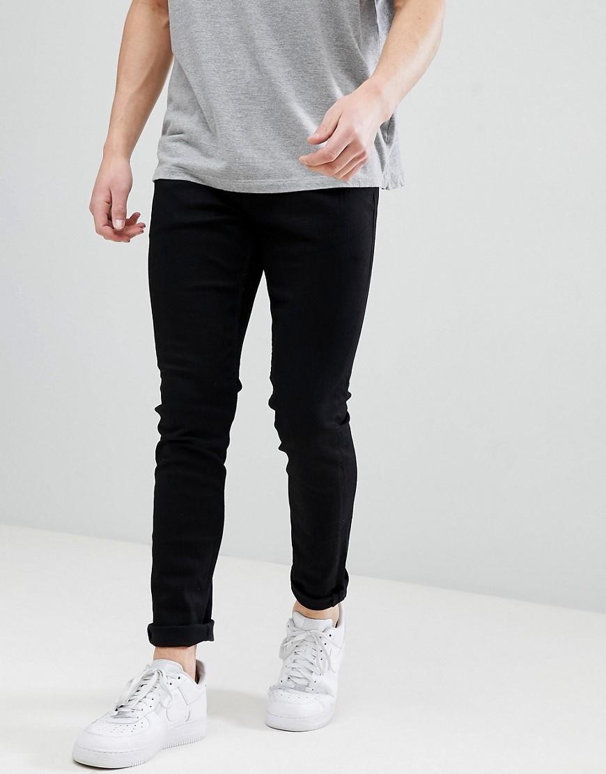 Мужские черные зауженные джинсы от Esprit