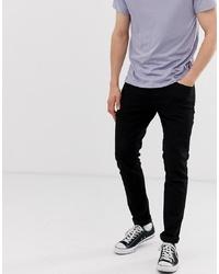 Мужские черные зауженные джинсы от Jack & Jones