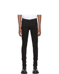 Мужские черные зауженные джинсы от Ksubi