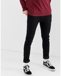 Мужские черные зауженные джинсы от Levi's