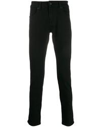 Мужские черные зауженные джинсы от Natural Selection