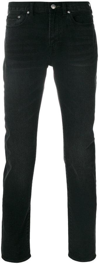 Мужские черные зауженные джинсы от Paul Smith