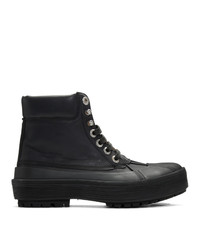 Женские черные зимние ботинки от Jacquemus